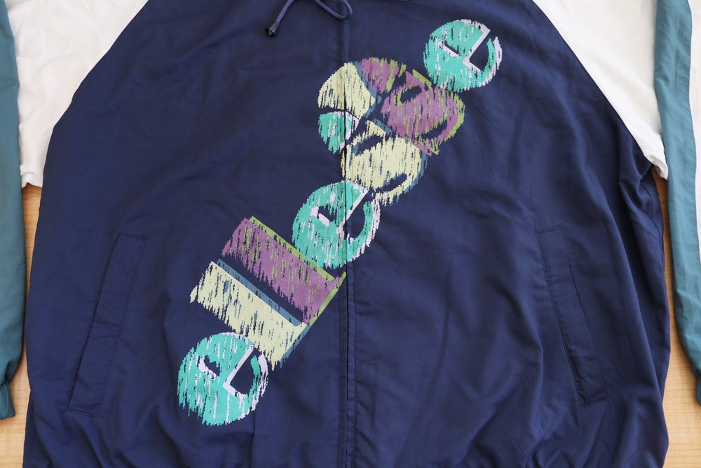 Image of Vintage 1990's Ellesse Tennis Spell Out Windbreaker Jacket Sz.M