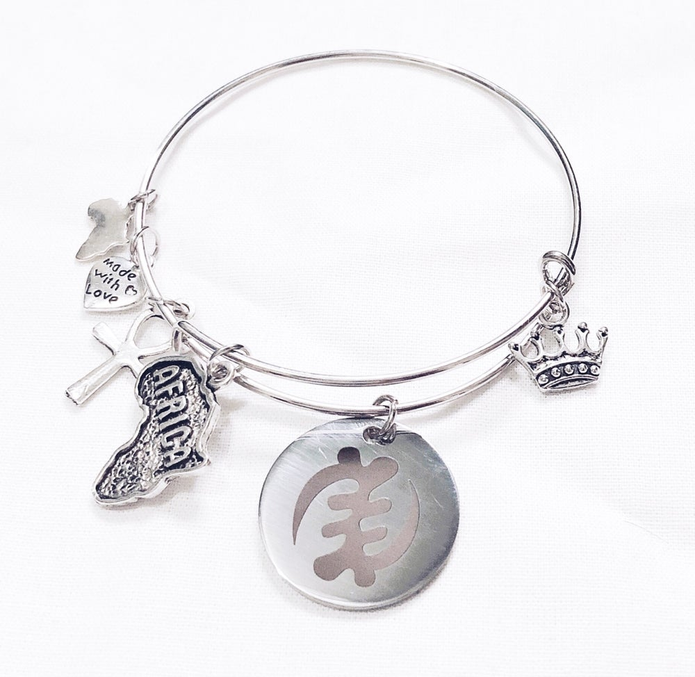 Image of Adinkra Gye Nyame Bangle
