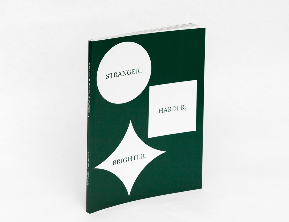 Image of Stranger, Harder, Brighter: The 2019 Burnaway Reader