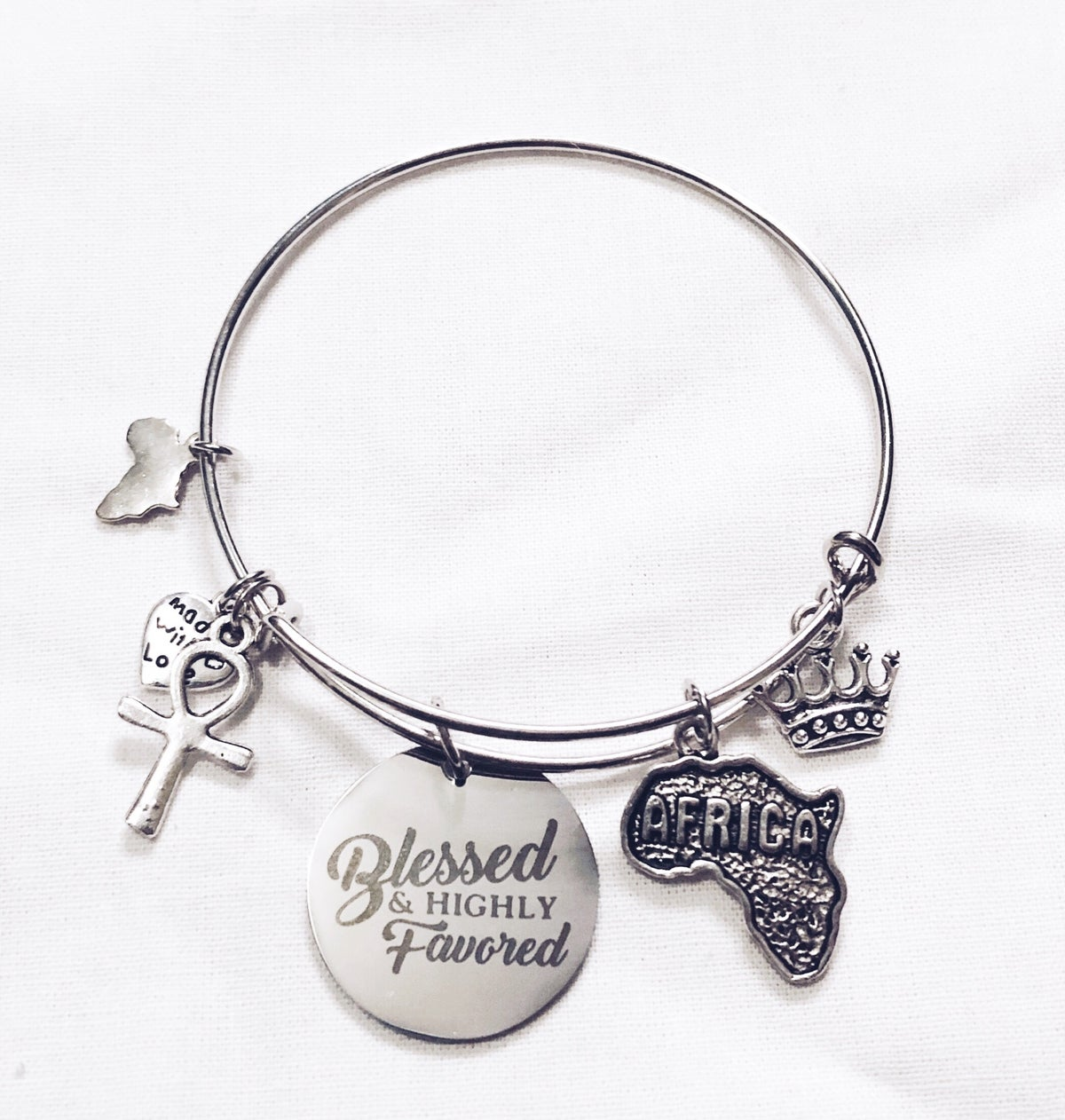 Image of Blessed & Favored Bangle