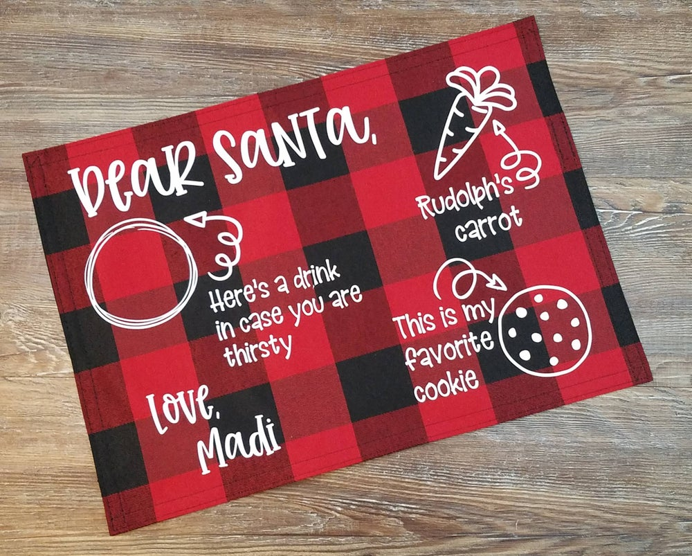 Image of Santa Placemat