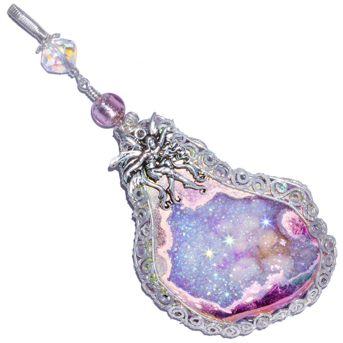 Fairy Aura Goede Sterling Handmade Filigree Pendant