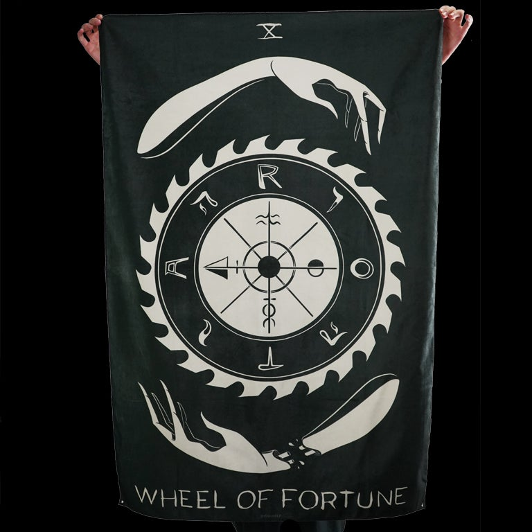 Image of WHEEL OF FORTUNE TAPESTRY