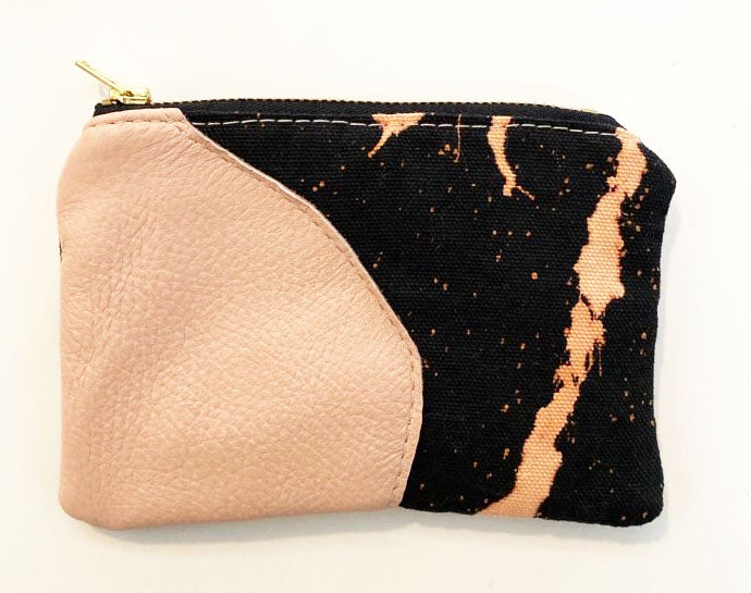 Piece Out -Cosmos Pink Coin/Card Purse