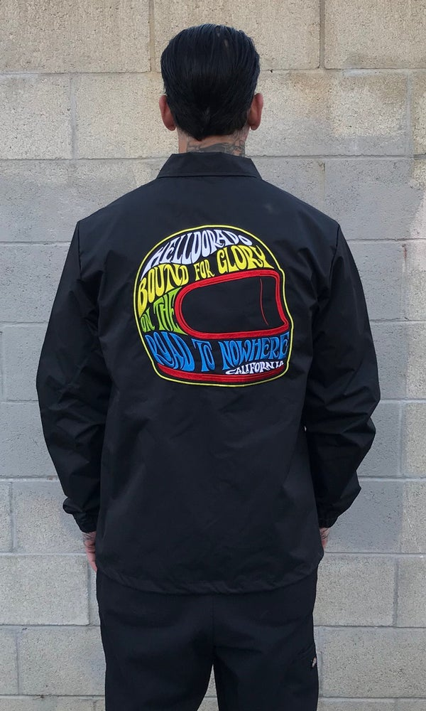 Image of PATCHED COACHES JACKET