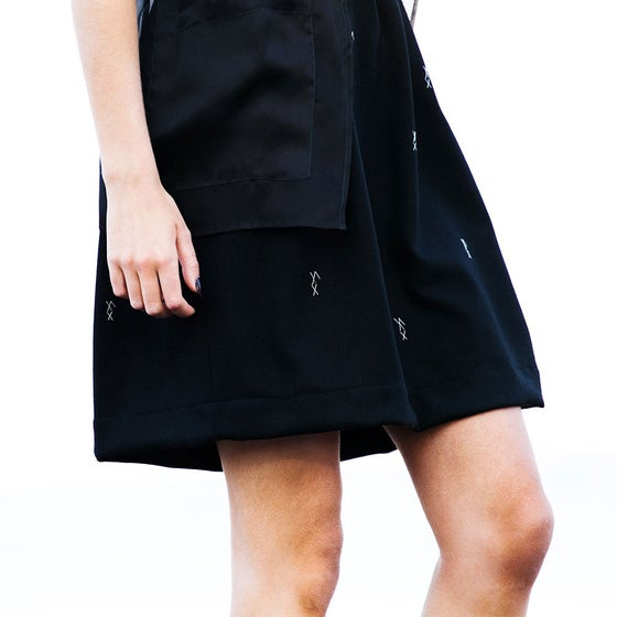 "Image of Zero Waste ""Rectangle skirt"""