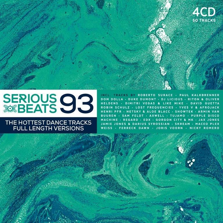 Image of VARIOUS ARTISTS - SERIOUS BEATS 93 (4CD)