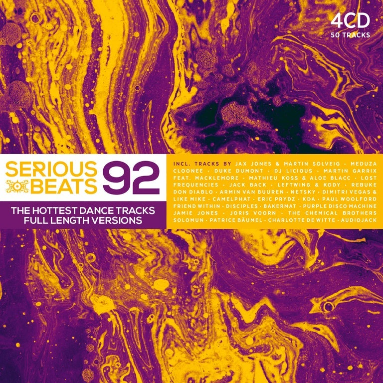 Image of VARIOUS ARTISTS - SERIOUS BEATS 92 (4CD)