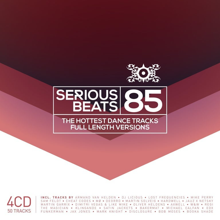 Image of VARIOUS ARTISTS -  SERIOUS BEATS 85 (4CD)