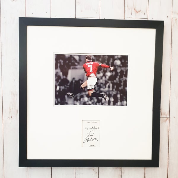 Image of Signed Eric cantona