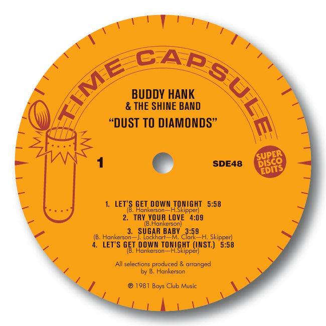 Buddy Hank & The Shine Band Dust to Diamonds Lp