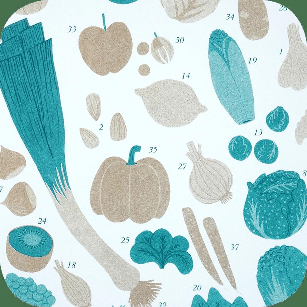 Image of Fruits et légumes d'automne