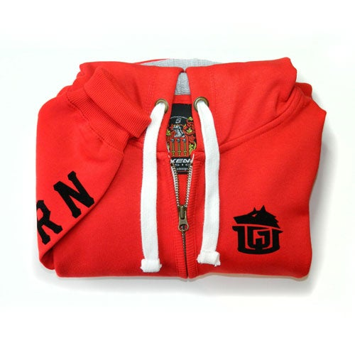 Image of GAME-WORN Chunky Zip Up Hoodie