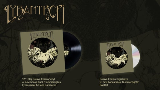 Image of Lykantropi - Lykantropi (Deluxe Edition CD/LP)