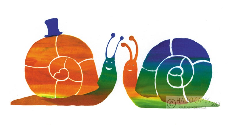 Image of Two Snails