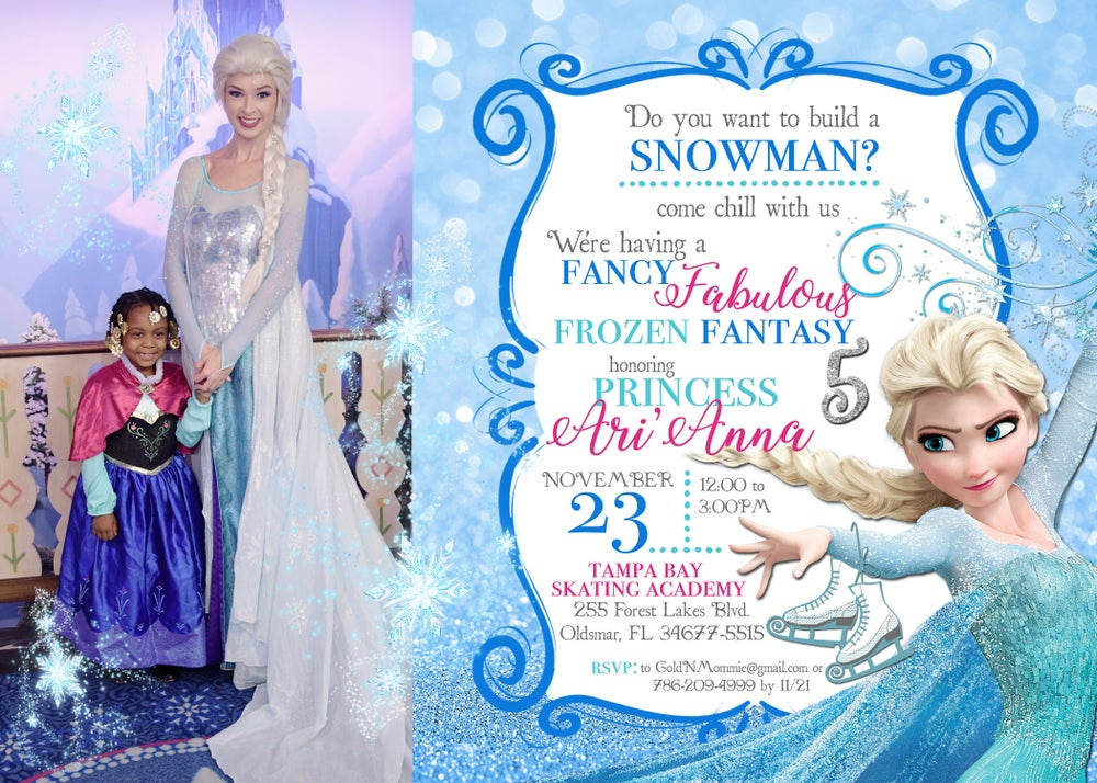 Image of Frozen Birthday Party Package