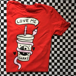 Image of Love Me Tee - Blue or Red