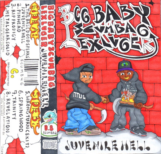 Image of Big Baby Scumbag - Juvenile Hell - Limited edition cassette