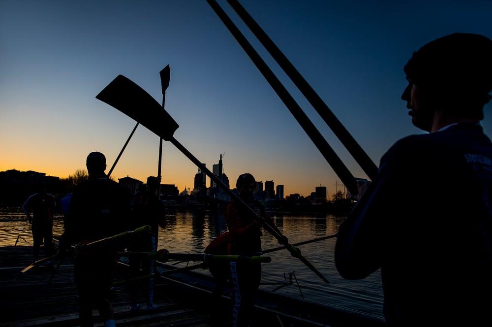 Image of Art Print - Penn Rowing 12