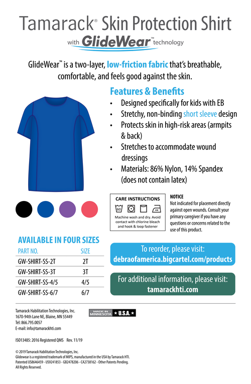 Image of Tamarack Skin Protection Short-Sleeve Shirt with GlideWearTM Technology