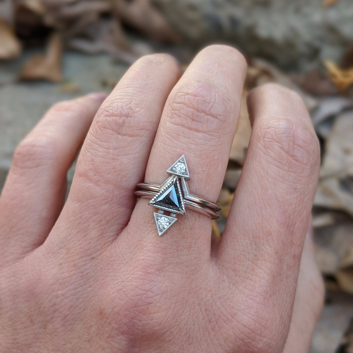 Image of Trinity Ring Set