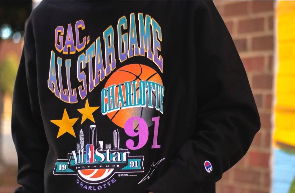 Image of 1991 GAC ALL STAR CREWNECK SWEATER