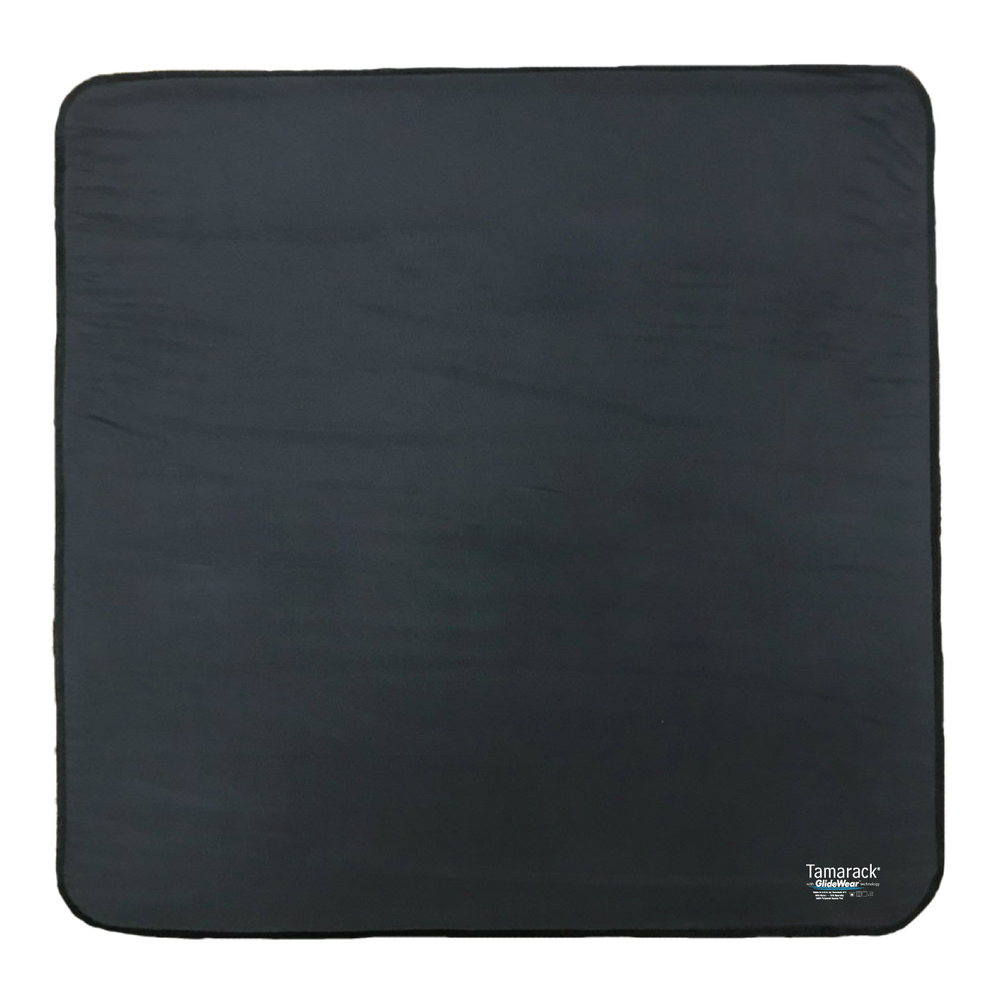 """Image of Tamarack Skin Protection Floor Pad with GlideWear TM Technology (26""""x26"""") in Black"""