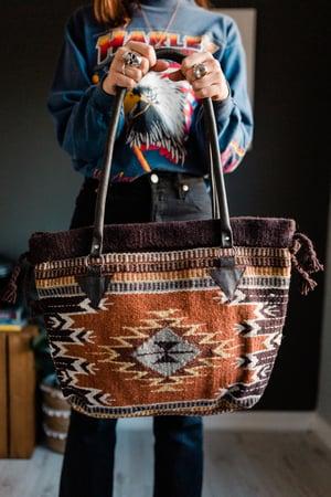 Image of The Desert Dust - Handwoven Wool Bag