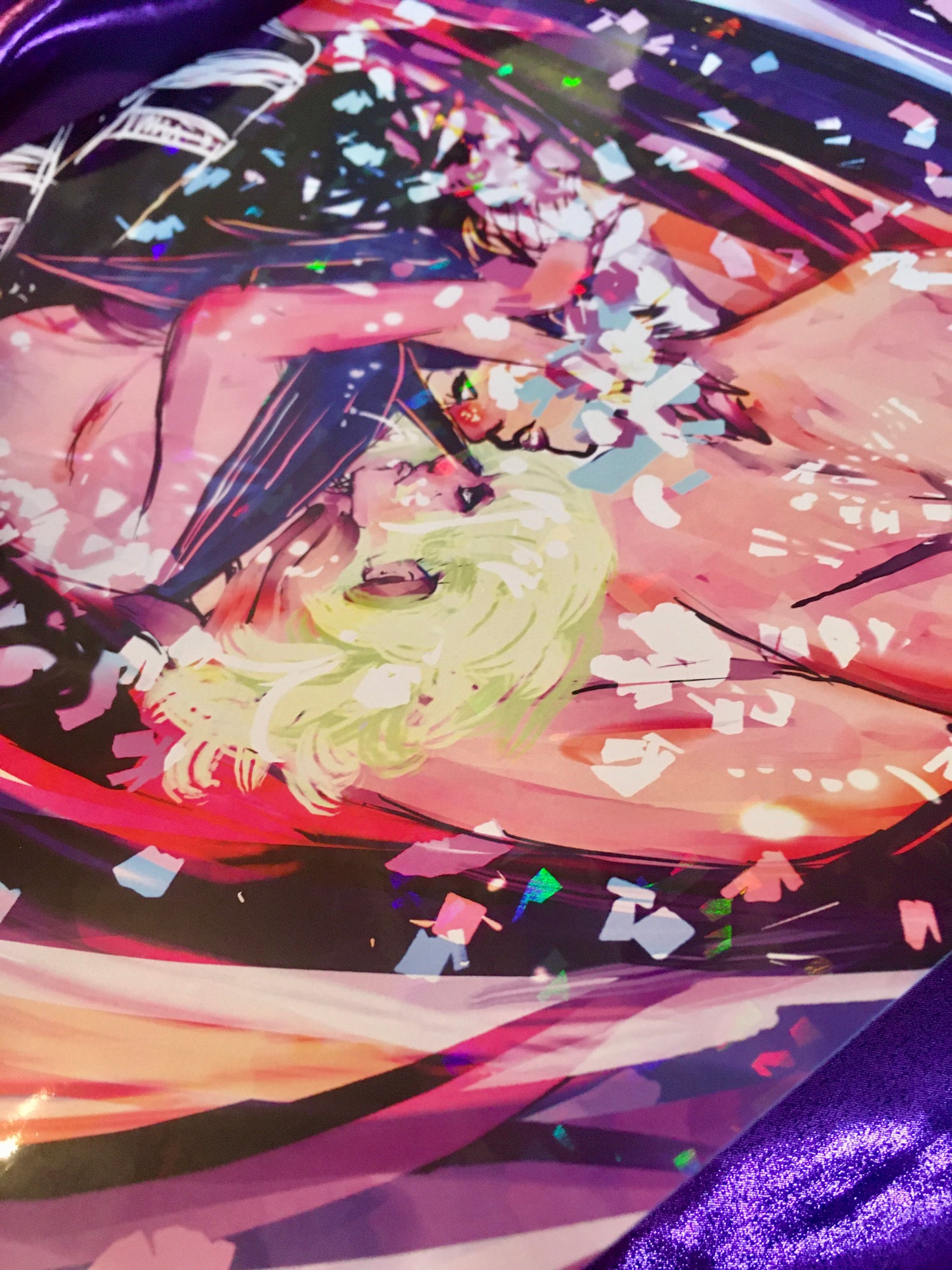 Image of your flame + mine {promare}