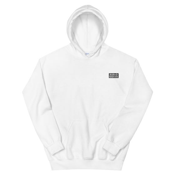 Image of Audio Narcos Box Logo Hoodie
