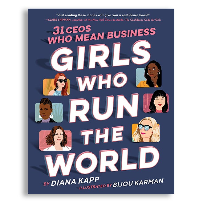 Image of Girls Who Run The World Book