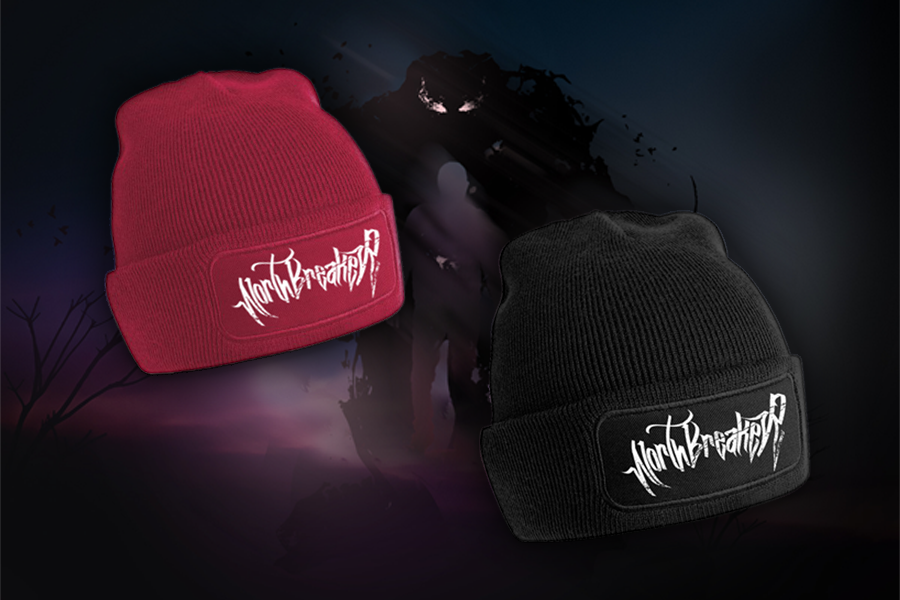 Image of Beanies Red & Black