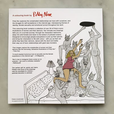 Image of Polly Nor Colouring Book