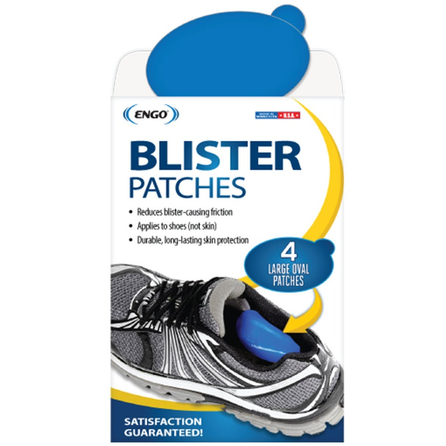 Image of Engo Blister Patches - Large Oval 4 Pack in Blue