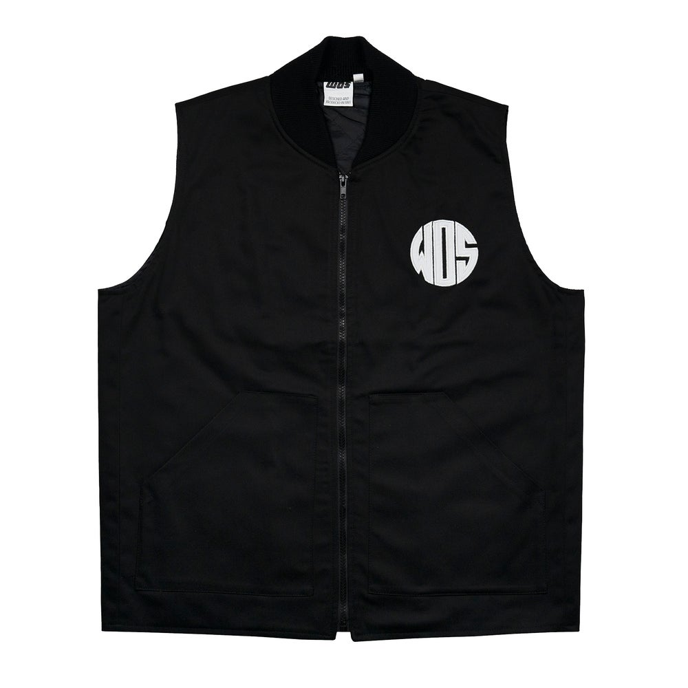 Image of RIDERS VEST (black)