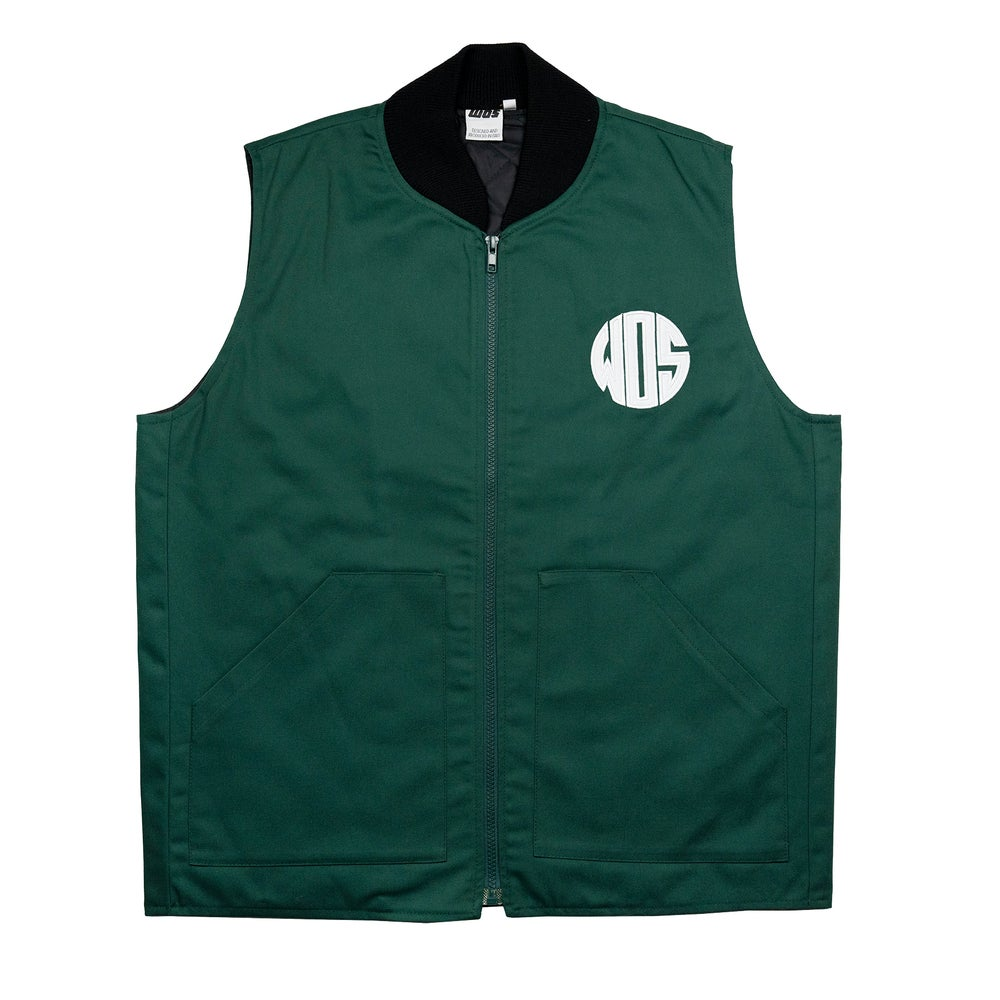 Image of RIDERS VEST (green)