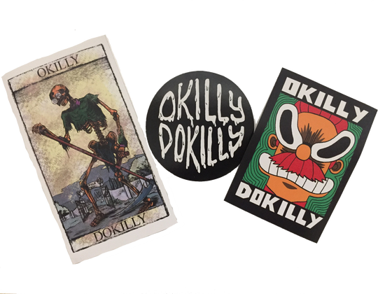 Image of Okilly Dokilly Sticker Pack