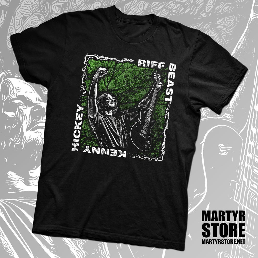 Image of KENNY HICKEY (TYPE O NEGATIVE) RIFF BEAST SHIRT