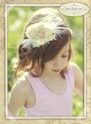 Image of Juliette La Fleur Tutorial PDF Fabric Scraps Flower Ribbon Rose How To Ebook Epattern Embellishment