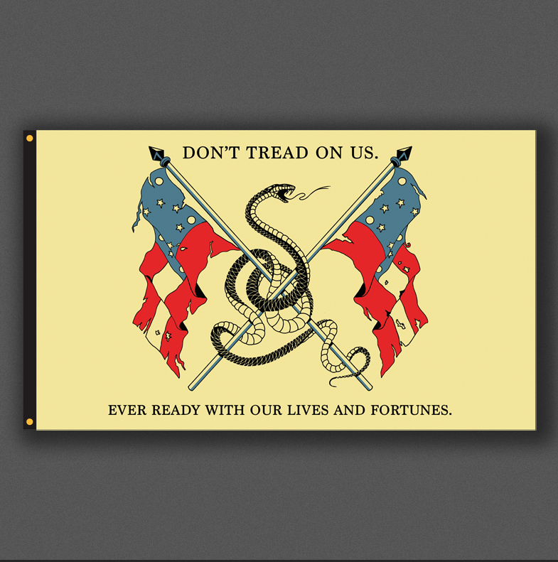 Image of DON'T TREAD // FLAG