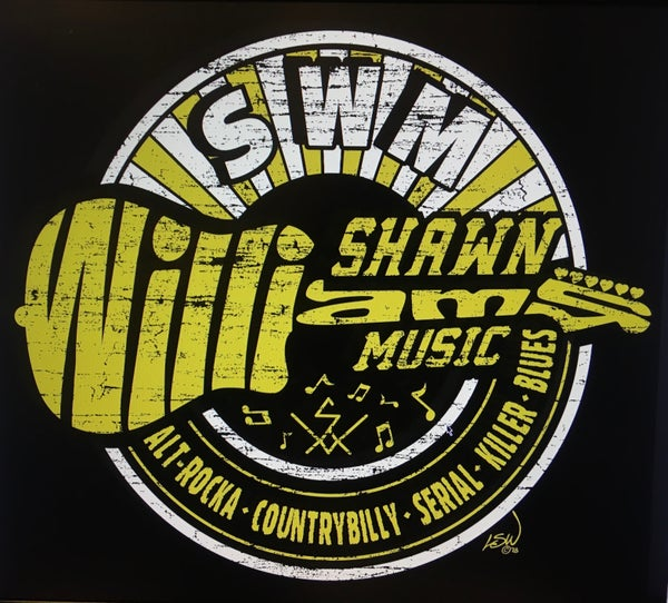 Image of Black and Gold Shawn Williams Music T-shirt
