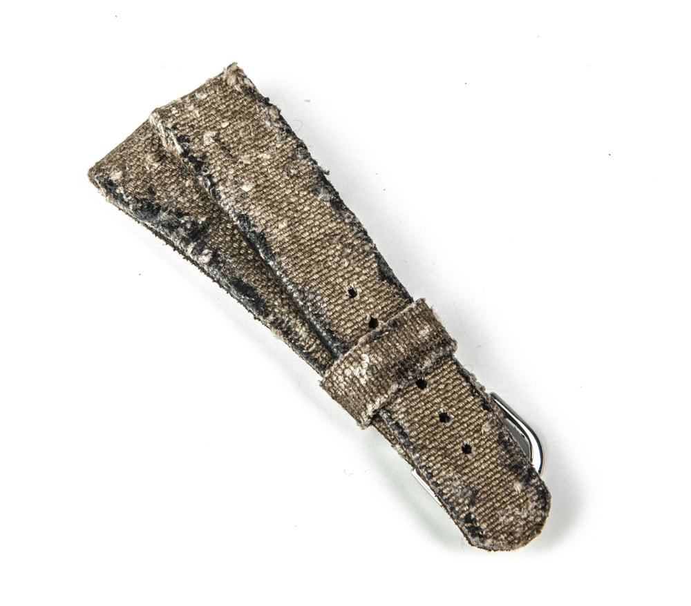 Image of Original Vintage Military Canvas Heavy Distress - 20 mm strap