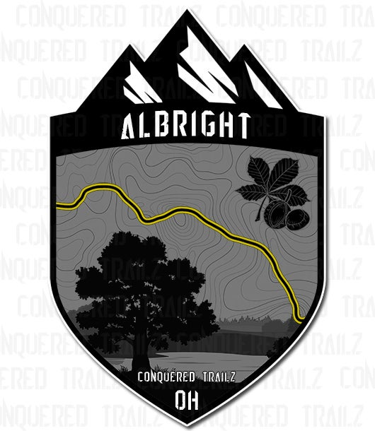 "Image of ""Albright Rd"" Trail Badge"