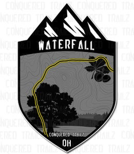 "Image of ""Waterfall"" Ohio Trail Badge"