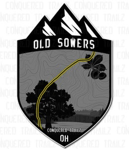 "Image of ""Old Sowers"" Trail Badge"