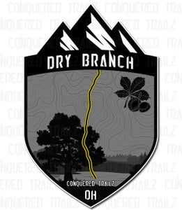 "Image of ""Dry Branch"" Trail Badge"