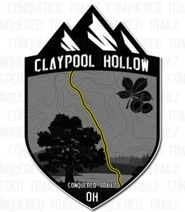 "Image of ""Claypool Hollow"" Trail Badge"