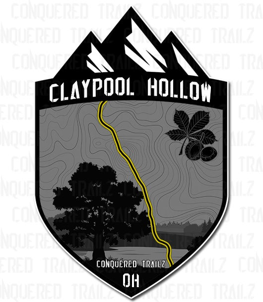 """Image of """"Claypool Hollow"""" Trail Badge"""