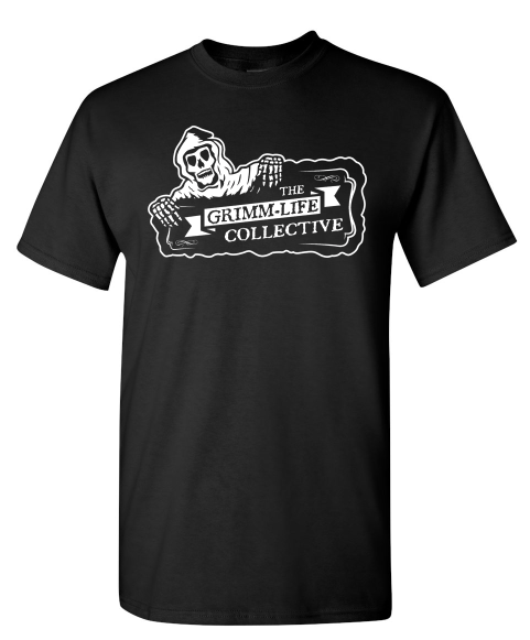 Image of The Grimm-Life Collective Logo T-Shirt