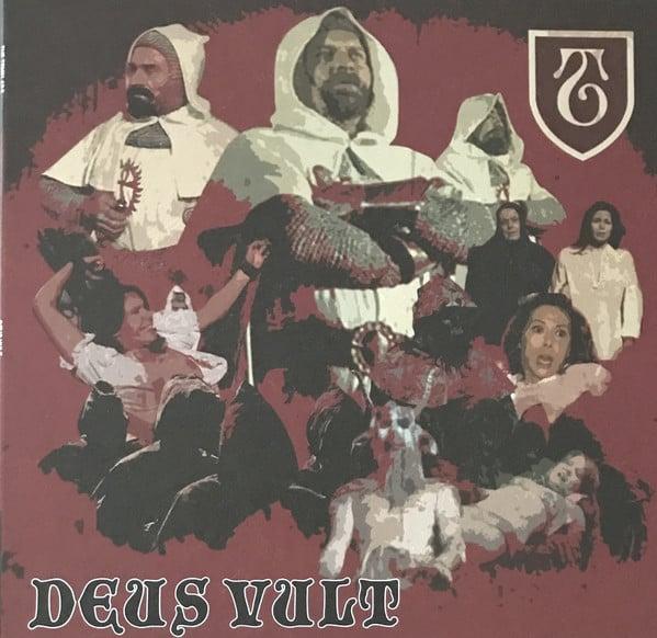 "Image of the TEMPLARS - ""Deus Vult"" LP (Red Vinyl)"